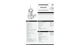 HYDRO - Model 10M - Submersible Electric Pump Brochure