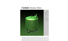 Model F2000 - Media Filter Brochure
