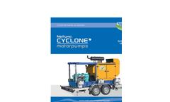 Nettuno - Model CYCLONE Series - Motor Pumps - Brochure