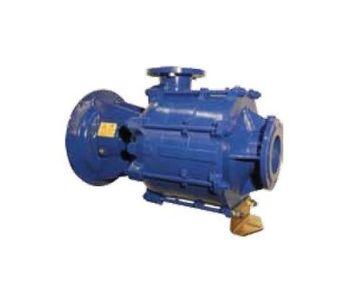 Sidermeccanica - Model SM 100-125 B - Horizontal Centrifugal Multicellular Pumps