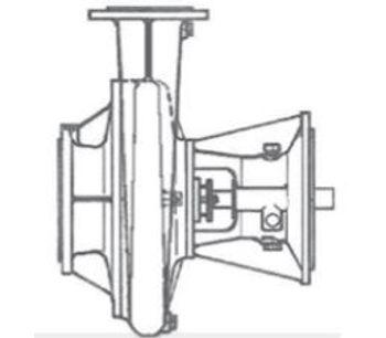 Sidermeccanica - Model SM 150-500 B - Horizontal Centrifugal Multicellular Pumps