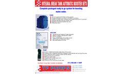 TP Pumps - Integral Break Tank Automatic Booster Sets Brochure
