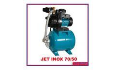 Jet Inox - Model 70/50 - Small Pressure Boosting Tank