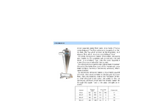 Irritalia - Cyclon Filter Brochure