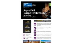 The 28th Argus FMB Fertilizer Europe 2015 Brochure