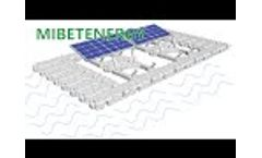 Solar PV Mounting System Manufacturer Mibet Energy Video