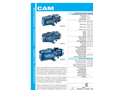 Model CAM - Self-Priming Centrifugal Pump - Brochure