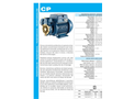 Model CP - Peripheral Positive Displacement Pumps - Brochure