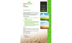 MaxProlin - Pure L-α Proline Acid - Datasheet