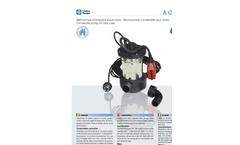 ACUA - Model Mini - Submersible Pumps Brochure