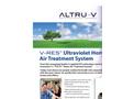 ALTRU-V - Model V-Res Series - UV Home Air Treatment System