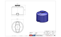 Polidas - Model D 500 - Vertical Water Tanks Brochure