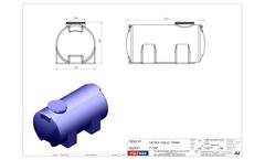 Polidas - Model Y 100 - Horizontal Water Tanks Brochure