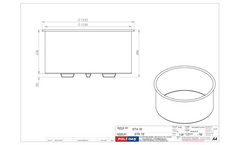 Polidas - Model STA 70 - Polyethylene Cylindrical Textile Trolleys Brochure