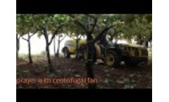 BW-BV Low Volume Trailed Sprayer With Centrifugal Fan - Video