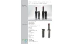 Rain - Model RN 160 - Electric Valve Brochure