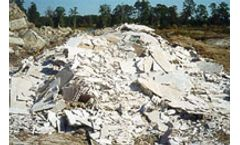 Increased recycling of gypsum wallboard waste promoted in the Northeast (CT, ME, MA, NH, RI, VT)