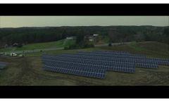 Solar Farm: Johnsonville, NY Community Solar - Video