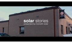 Monolith Solar Stories: the Food Pantries for the Capital District - Video