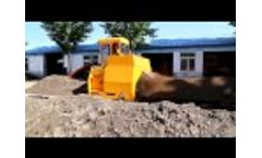 hydraulic compost windrow turner Video