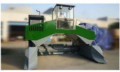 Azeus - Model A2S-9FYD - Hydraulic Compost Turner