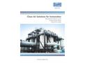 Dürr Megtec – Clean Air Solutions for Incineration – Brochure