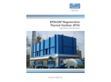 Dürr Megtec - Epsilon Regenerative Thermal Oxidizer RTO – Brochure