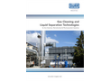 Dürr Megtec – Gas Cleaning and Liquid Separation Technologies for the Chemical, Petrochemical & Pharmaceutical Industries – Brochure