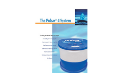 Pulsar - Model 4 - Commercial Pool and Spa Chlorination System Brochure