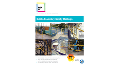 Kwik Kit - Quick Assembly Safety Railings - Brochure