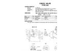 Model TYPE 292 - 40 Bar Check Valves Brochure