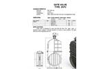 Model TYPE ZKP2 - Gate Valve Brochure
