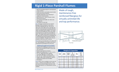 Kenco - Fiberglass Parshall Flumes - Brochure
