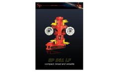 SP Maskiner - Model SP 561 LF - High Performance All Round Harvester Head Brochure