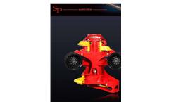 SP Maskiner - Model SP 661 E - Harvester Head Brochure
