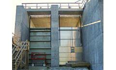 Aesthetic Spillway Gate