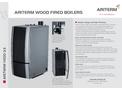Ariterm Vedo - Wood Boiler Brochure
