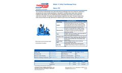 Thompson - Model 4TS - 4 Inch Utility Trash/Sewage Pump - Datasheet