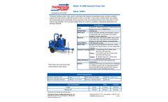Thompson - Model 32HPU - 32 GPM Hydraulic Power Unit - Datasheet