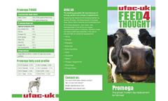 Promega - Model P 4400 - Highperforming Dairy Diets Brochure
