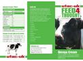 Omega - Model P1632 - Cows Cream Brochure