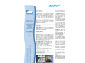 Aqua-Sac - Self-Inflating Sandbag - Datasheet