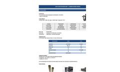 Ulpatek - Model ULP-Bi-On ACPA - Carbon Based Media - Brochure