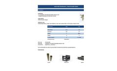 Ulpatek - Model ULP-Bi-On CI - Zeolite Based Media - Brochure