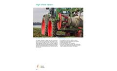 Pfanzelt - High Wheel Tractors Brochure