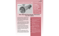 R.P. Adams - Model SFT - 6006-2-NS - Fixed Bundle Aftercooler Brochure