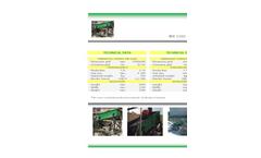 Model WV 1560 – WV 2080 - Vibrating Screens Brochure