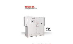 Toshiba - HX7 LV - Plus Pack Severe Outdoor Brochure