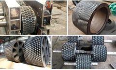 TD - Steelwork Sludge Briquetting Machine