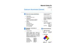 Secar - 41 - Calcium Aluminate Cement  Brochure